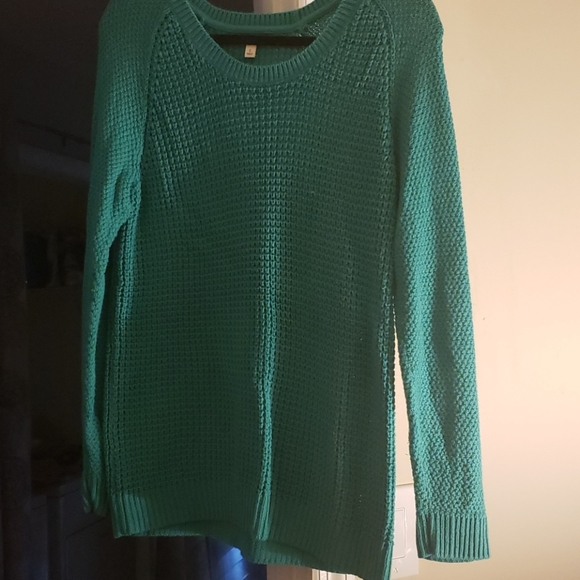 Sonoma green sweater